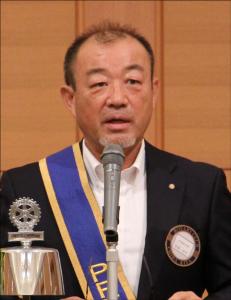 2017-2018年度 千葉北ロータリークラブ 会長  君塚 幸申